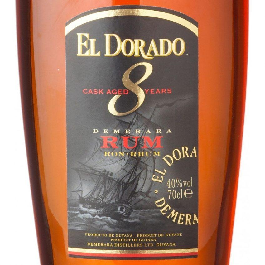 Ron El Dorado 8 años